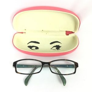 KATE SPADE   Rx glasses and case